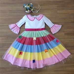 Vestido festa Caipira-vestidos para festa junina