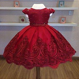 Vestido de Formatura Da Pre  Escola  -Vestido de Festa  Infantil