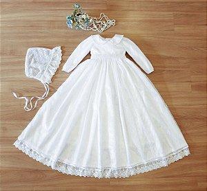 Vestido Mandrião - Batizado Infantil