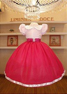 Vestido de Festa Lol- Vestido de Festa Infantil