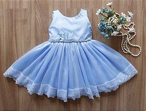 Vestido de Festa Azul - PROMOÇÕES