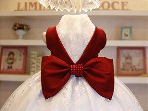 Vestido de Festa Marsala - PROMOÇÕES