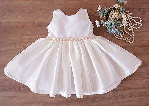 Vestido Branco - Batizado