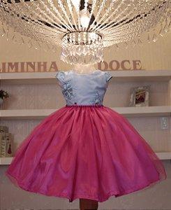 Vestido Princesa Barbie - Vestido de Temas Infantil