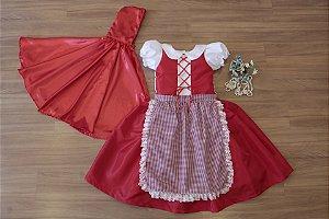 Vestido chapeuzinho vermelho  - Vestido de Temas