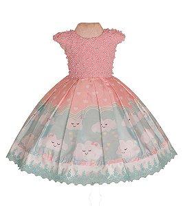 Vestido luxo chuva de amor   - Vestido de festa