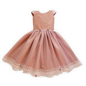 Vestido dama rose  - vestido infantil