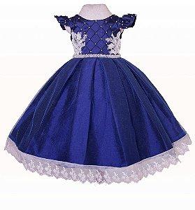 Vestido Azul Marinho - Vestido Formatura ABC