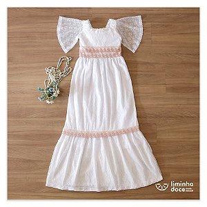 Vestido Daminha Casamento Na Praia - Teen