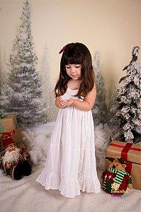 Vestido Longo Infantil Branco