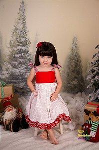 Vestido de Poa para Meninas