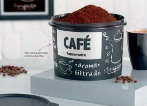 Tupper Caixa Café PB 700g - Tupperware