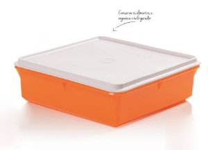 Caixa Versátil Laranja 2,5 Litros - Tupperware