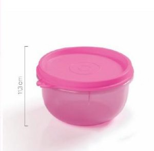 Mini Tigelinha Rosa 250ml - Tupperware