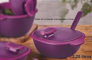 Travessa Thermo Tup Roxa 2,25 Litros - Tupperware