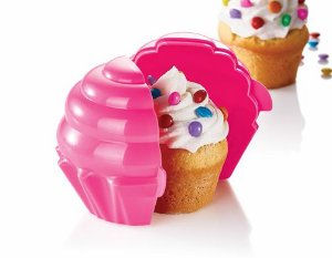 Tupper Cupcake Rosa - Tupperware