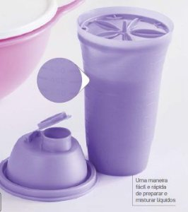 Quick Shake Lilás 500ml - Tupperware