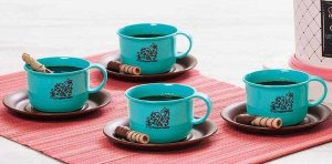 Xícaras de Café 150ml kit 4 peças - Tupperware