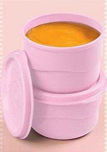 Potinho Rosa 110ml kit 2 peças - Tupperware
