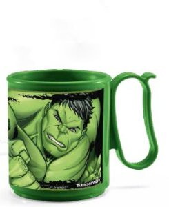 Caneca Jumbo Hulk 280ml - Tupperware