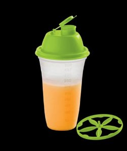 Quick Shake II Tampa Verde 500ml - Tupperware