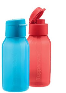 Eco Tupper Plus Redonda Azul 350ml + Eco Tupper Plus Redonda Vermelha 350ml kit 2 peças - Tupperware