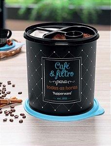 Tupper Caixa Café e Filtro Bistrô - Tupperware