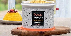 Tupper Caixa Cuscuz Bistrô 1 Kg - Tupperware
