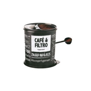 Tupper Caixa Café e Filtro PB - Tupperware