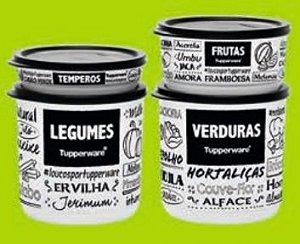 Kit Refri Line PB 4 Peças - Tupperware
