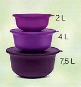 Conjunto Tigelas Aloha 3 Peças - Tupperware