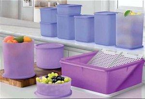 Bea Refri Line Lilás 11 peças - Tupperware