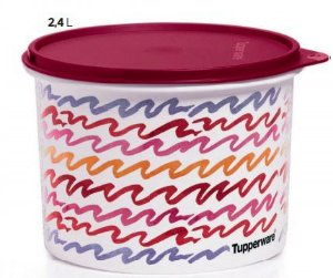 Tupper Caixa Geométrica 2,4 Litros - Tupperware