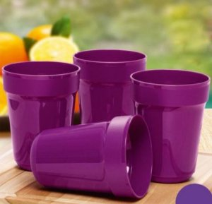 Copo Aloha  470 ml kit 4 peças - Tupperware