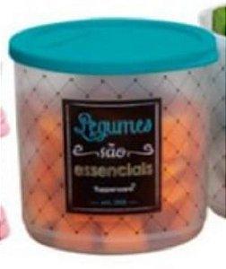 Refri Line Redondo Legumes Bistro  1,1 Litro - Tupperware