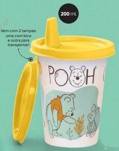 Copinho com Bico Ursinho Pooh 200ml - Tupperware