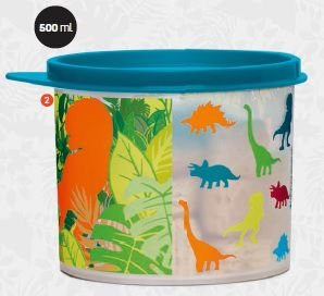 Tupper Redondinha Jurassic Word 5000 ml - Tupperware