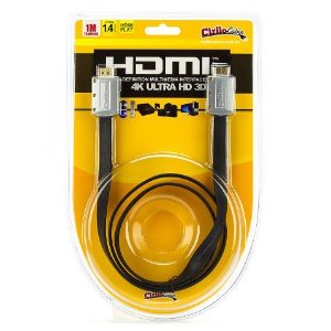 Cabo HDMI Flat Desmontável - 1.4 Ultra HD 3D - 1 Metro