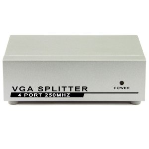 Vídeo SPLITTER 1X4 - Distribuidor de Sinal VGA