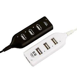 HUB USB 4 PORTAS -1 porta USB em 4 portas USB