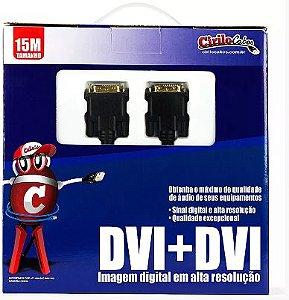 Cabo DVI para DVI, 15 Metros- cirilo cabos