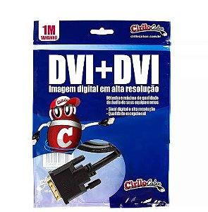 Cabo DVI para DVI, 1 Metro - cirilo cabos