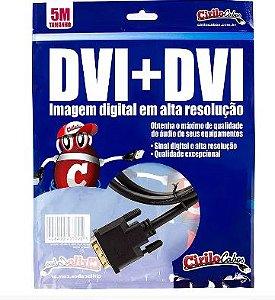 Cabo  DVI para DVI, 5 Metros - cirilo cabos