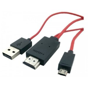 Cabo HDMI para Micro USB-MHL 2.0 -Galaxy S3/S4/Note II- Android