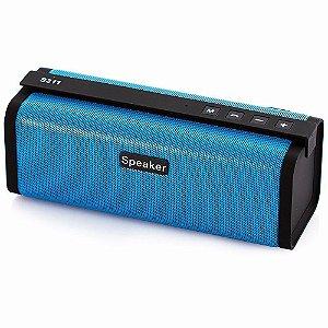 Caixa De Som Stereo Wireless Portátil Bluetooth S311 Speaker- Pen drive /P2-P2 / Cartão de memória/ FM