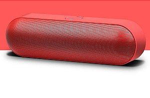 Caixa de som portátil wireless bluetooth S812- cartão de memória /p2 / pen drive/ FM