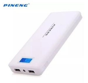 Bateria Externa Pineng Power Bank Original 20000 Mah-branco