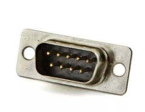 Conector DB9 para Solda Macho