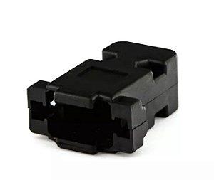 Capa Conector VGA 15 Pinos Plástico Niquelado