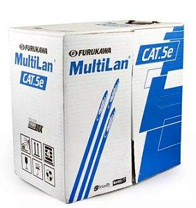 Cabo de Rede Furukawa CAT5e Antichamas - MultiLan - Por Metro